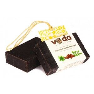 Buy Veda Essence Neem Basil Sandalwood Soap - Nykaa