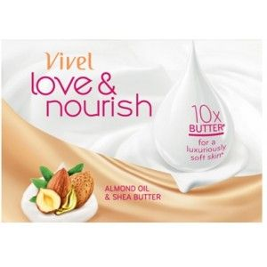 Buy Vivel Love & Nourish Soap With Almond Oil & Shea Butter Extra 33% - Nykaa