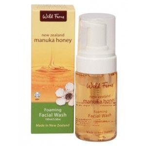 Buy Wild Ferns Manuka Honey Foaming Facial Wash - Nykaa
