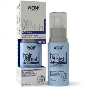 Buy Wow Hair Vanish For Men Hair Retardant Application Just 4-6 Week - Nykaa