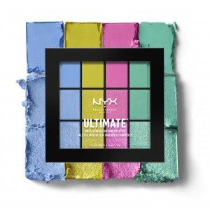 Buy NYX Professional Makeup Ultimate Multi-Finish Shadow Palette - Nykaa