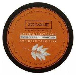 Buy Zoivane Men Natural Daily Scrub For Even Tone Skin (Oily To Normal Skin)  - Nykaa