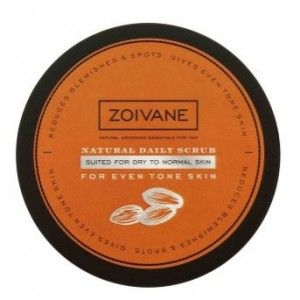 Buy Zoivane Men Natural Daily Scrub For Even Tone Skin (Dry To Normal Skin)  - Nykaa