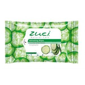 Buy Zuci Cucumber & Mint Wet Wipes  - 15 WIPES - Nykaa
