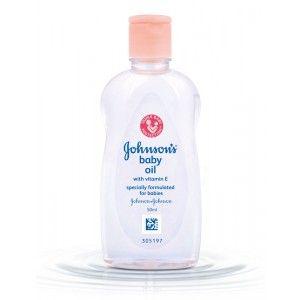 Buy Johnson's Baby Oil With Vitamin E - Nykaa