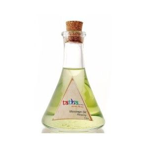 Buy Tatha Nature's Blessing Massage Oil Relaxing - Nykaa