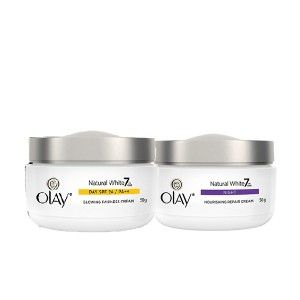 Buy Olay Natural White Day and Night Regime - Nykaa