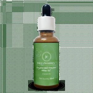 Buy Juicy Chemistry Cold Pressed Organic Neem Oil - Nykaa