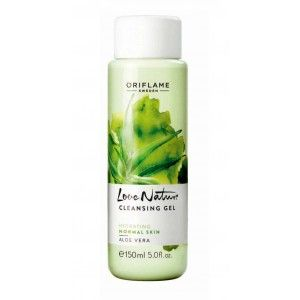 Buy Oriflame Love Nature Cleansing Aloe Vera Gel - Nykaa