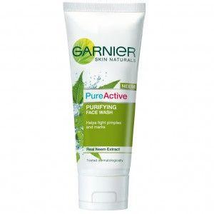 Buy Garnier Pure Active Neem Face Wash - Nykaa