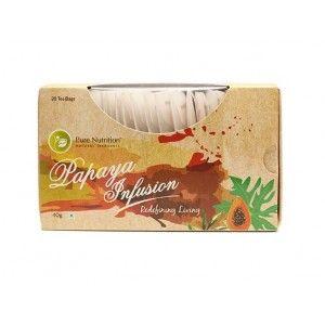 Buy Pure Nutrition Papaya Infusion Tea Bags - Nykaa