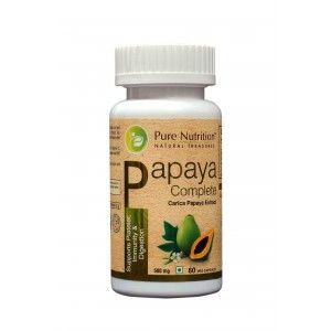 Buy Pure Nutrition Papaya Complete 60 Capsules - Nykaa