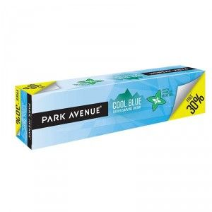 Buy Park Avenue Cool Blue Lather Shaving Cream 40% Extra Free - Nykaa
