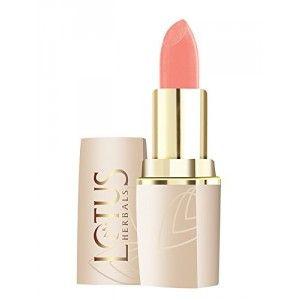 Buy Lotus Herbals Pure Colors Lip Color - Peach Crème - Nykaa