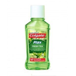 Buy Colgate Plax Fresh Tea Mouthwash - Nykaa