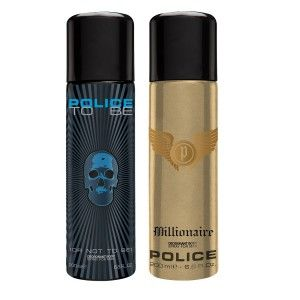 Buy Police Pack Of 2 - To Be Men And Millionaire - Nykaa