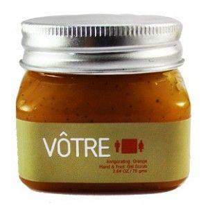 Buy Votre Invigorating Orange Hand & Foot Gel Scrub - Nykaa