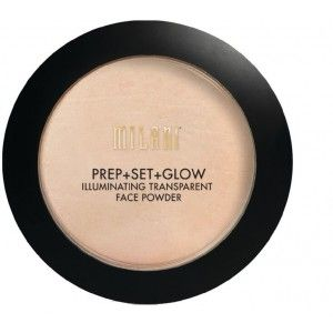 Buy Milani Prep + Set + Glow Illuminating Face Powder - Nykaa