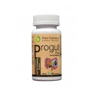 Buy Pure Nutrition Progut Plus 60 Capsules - Nykaa