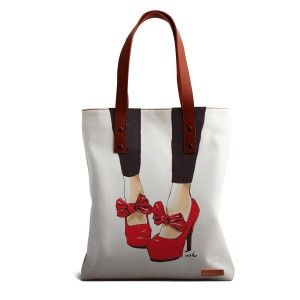 Buy DailyObjects Pump It Up Girl Tote Bag - Nykaa