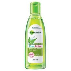 Buy Garnier Pure Active Neem + Tulsi High Foaming Face Wash - Nykaa
