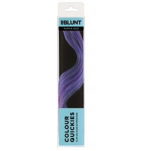 Buy BBlunt Colour Quickies Clip-On Hair Extensions - Purple Haze - Nykaa