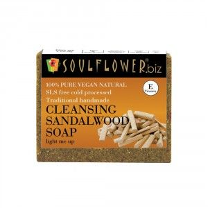 Buy Soulflower Cleansing Sandalwood Soap - Nykaa