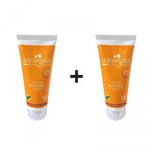 Buy Aaranyaa Rejuvenating Face Pack Turmeric (Buy 1 Get 1 Free) - Nykaa
