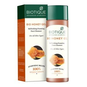 Buy Biotique Honey Gel Refreshing Foaming Face Cleanser - Nykaa