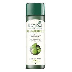 Buy Biotique Bio Water Cress  Fresh Nourishing Conditioner - Nykaa