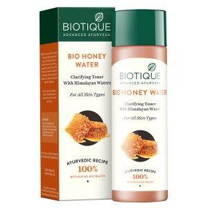 Buy Biotique Bio Honey Water Clarifying Toner - Nykaa