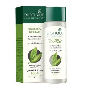 Buy Biotique Morning Nectar Visibly Flawless Skin Moisturizer - Nykaa