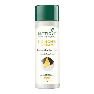 Buy Biotique Bio Honey Cream Rejuvenating Body Wash - Nykaa