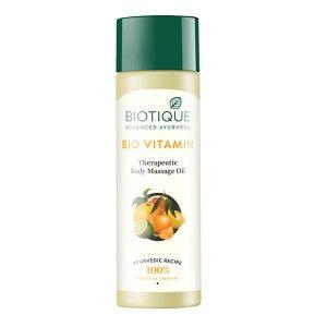 Buy Biotique Bio Vitamin Therapeutic Body Massage Oil - Nykaa