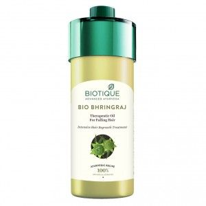 Buy Biotique Bio Bhringraj Therapeutic Oil for Falling Hair - Nykaa