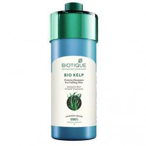 Buy Biotique Bio Kelp Protein Shampoo for Falling Hair Intensive Hair Growth Treatment - Nykaa