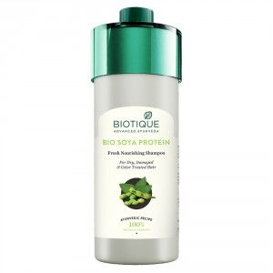 Buy Biotique Bio Soya Protein Fresh Nourishing Shampoo - Nykaa