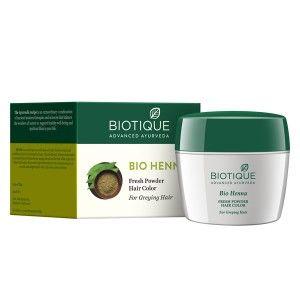 Buy Biotique Bio Henna Fresh Powder Hair Colour - Nykaa