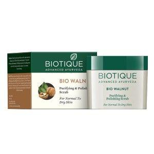 Buy Biotique Bio Walnut Purifying & Polishing Scrub - Nykaa