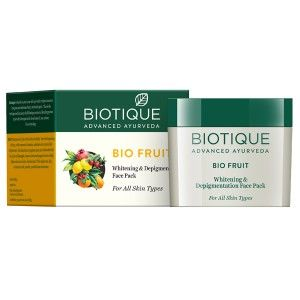 Buy Biotique Bio Fruit Whitening & Depigmentation Face Pack - Nykaa