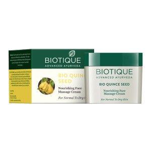 Buy Biotique Bio Quince Seed  Nourishing  Face Massage Cream - Nykaa