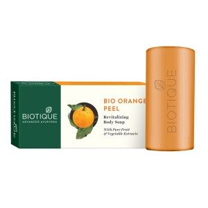 Buy Biotique Orange Peel  Body Revitalizing Body Soap - Nykaa