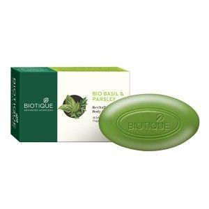 Buy Biotique Bio Basil & Parsley Revitalizing Body Soap - Nykaa