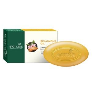 Buy Biotique Bio Almond Oil Nourishing Body Soap - Nykaa