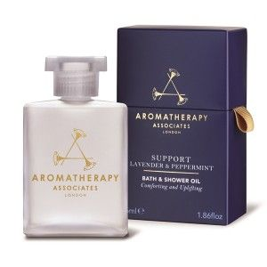 Buy Aromatherapy Associates Support Lavender and Peppermint Bath and Shower Oil - Nykaa