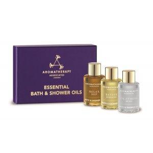 Buy Aromatherapy Associates Essentials Bath & Shower Oil (Relax, De-Stress & Revive) - Nykaa