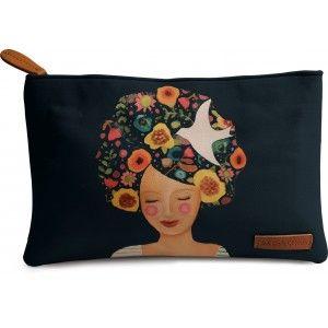 Buy DailyObjects Rosarita Carry-All Pouch Medium - Nykaa