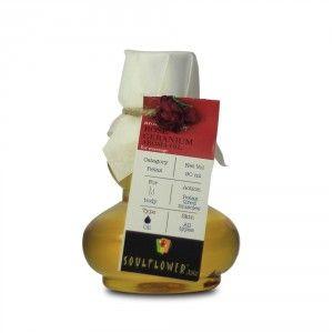Buy Soulflower Rose Geranium Aroma Massage Oil - Nykaa