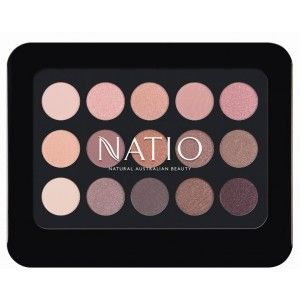 Buy Natio Natural Shades Eyeshadow Palette - Rosebud - Nykaa