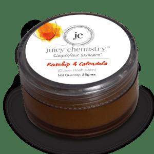 Buy Juicy Chemistry Rosehip Oil & Calendula (Diaper Rash Balm) - Nykaa